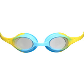 arena Spider Goggles Kids clear/yellow/lightblue